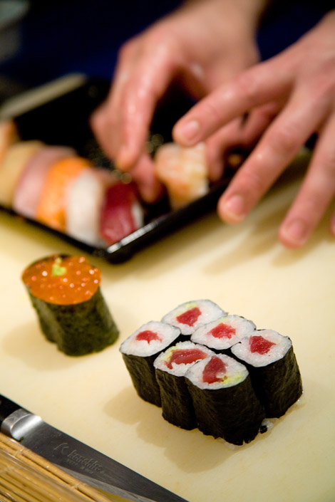 Dove mangiare sushi take away a Londra