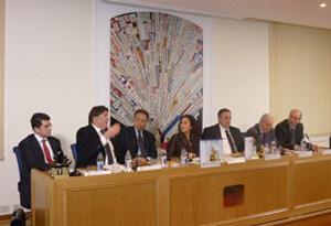 Da-sx-Carlo-Ercolino, Enrico-Lupi, Gianfranco-Nappi, Anna-Scafuri, Marco-Fiorentino, Silvano-Ferri, Luciano-D'Aponte