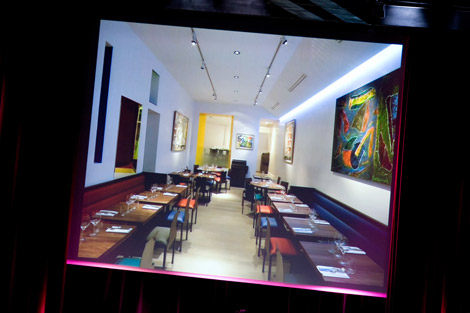 Ledeuil fusion di colori nel cuore di parigi for Ze kitchen galerie menu english