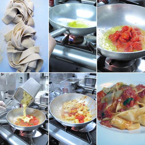 ricetta-nastri-piennolo-stracciatella-preparazione
