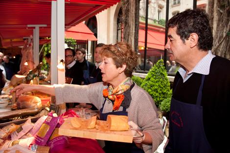 foie-gras-ducasse-Sandrine-et-Maurice-Lesgourgues