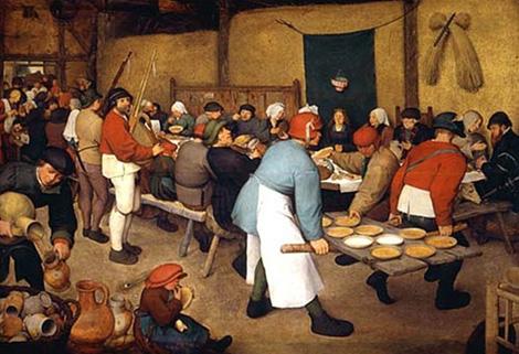 pieter_bruegel-matrimonio-contadini-1568