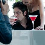 Benicio Del Toro e la prima volta di Campari