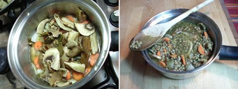 pilates-zuppa-lenticchie-preparazione