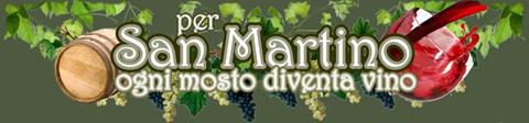 Risultati immagini per san martino ogni mosto è vino BLERA