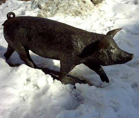 cotechino-statua-maiale