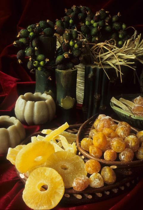 frutta-secca-ananas