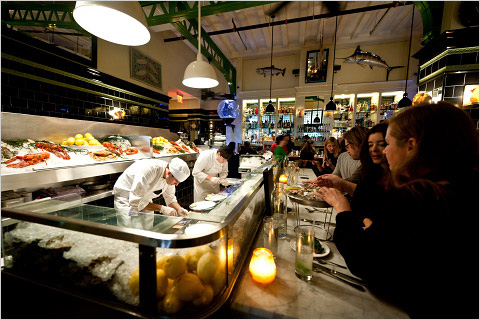 The john dory oyster bar 2 0 for Food bar nyc