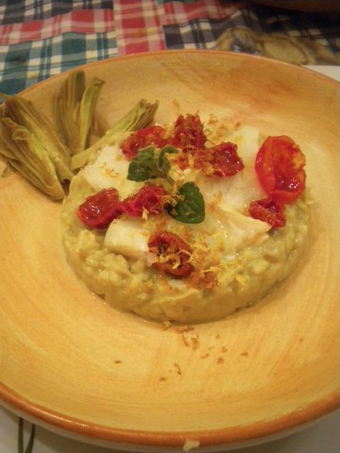risotto-carciofi-burrata