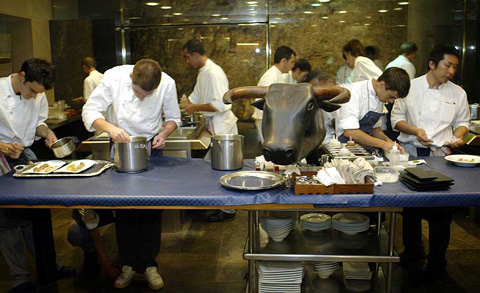 Elbulli cena e pranzo da ferran adri ma la carte per for Ferran adria platos