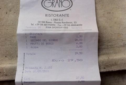La tassa del tavolo agli stranieri a Roma è come il rimbalzo sui ...