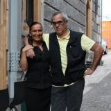 Salvatore Tassa e Marzia Buzzanca: cena a 4 mani in diretta