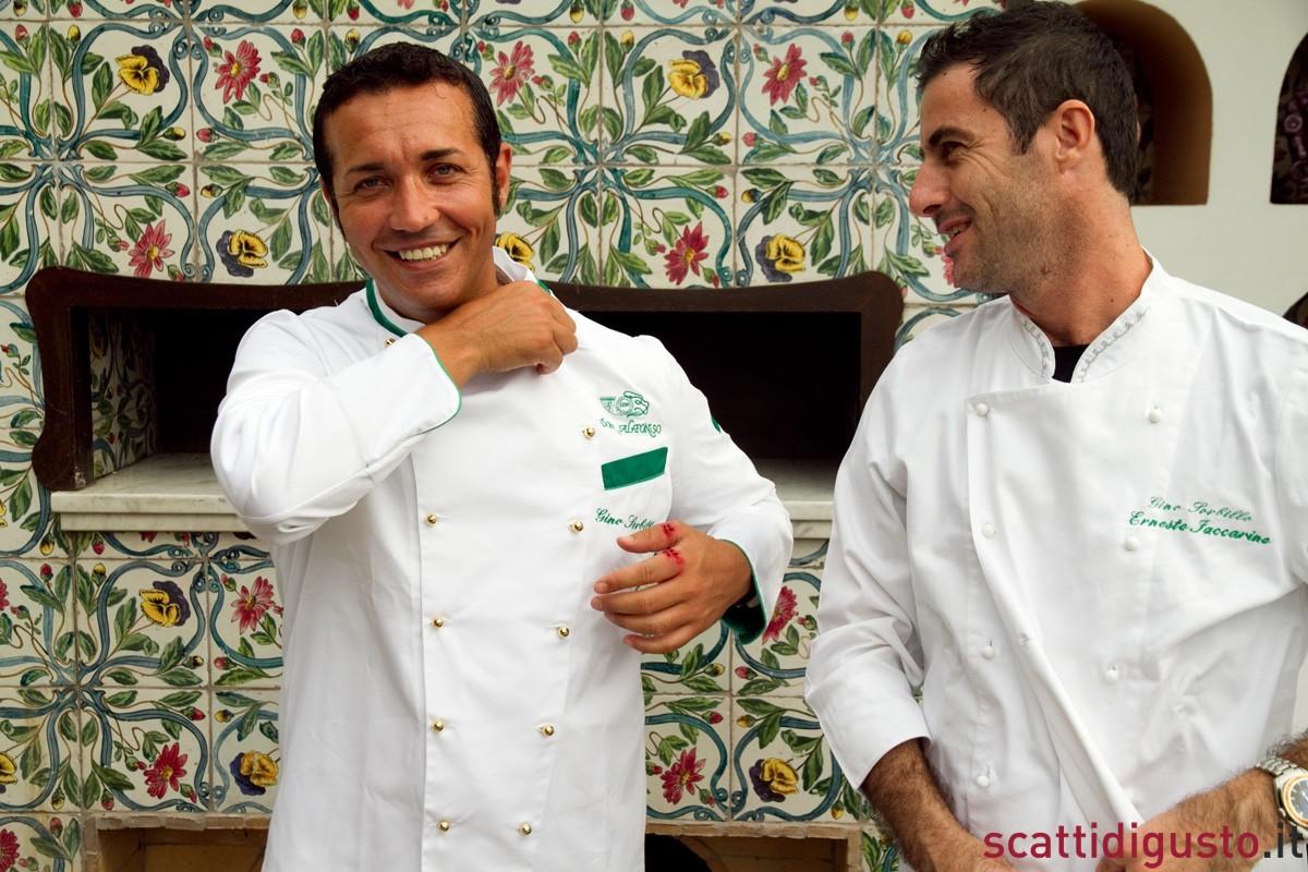 Scatti-di-Pizza-Ernesto-Iaccarino-e-Gino-Sorbillo-divise-2