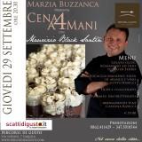 Cene a 4 Mani | Il cuoco nero Maurizio Santin va all'Aquila