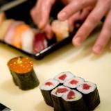 Sushi che fortuna! Pippa lo mangia e quello sale del 21%