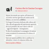 Nicola Cavallaro torna con un bistrot democratico a Cascina Cuccagna