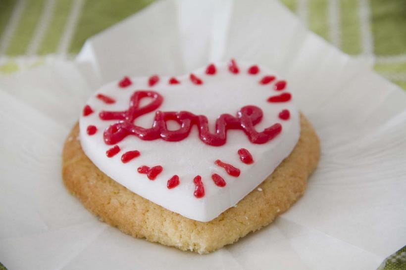 Biscotti a forma di cuore San Valentino-12