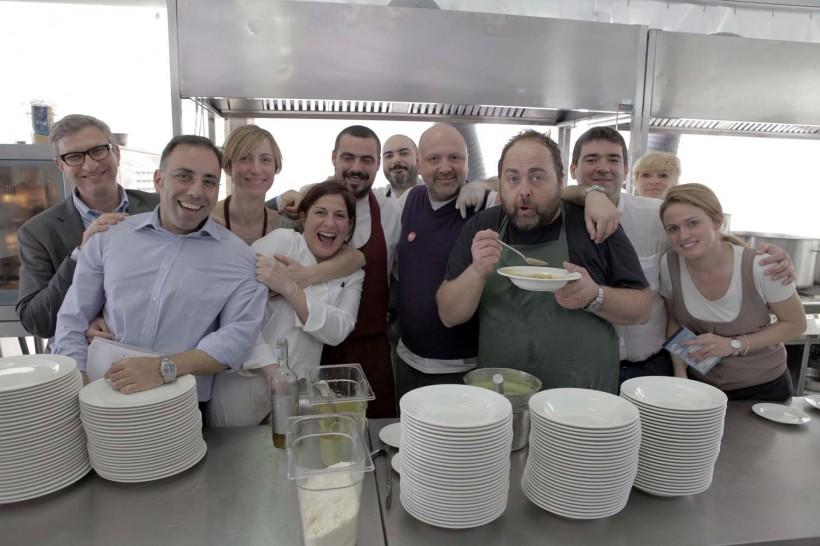Cucina trattoria de gli amici Vinitaly 2012