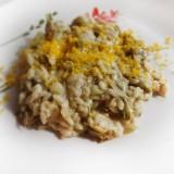 La ricetta del risotto primavera è migliore con carciofi e bottarga