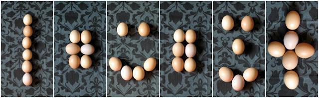 uova composizioni
