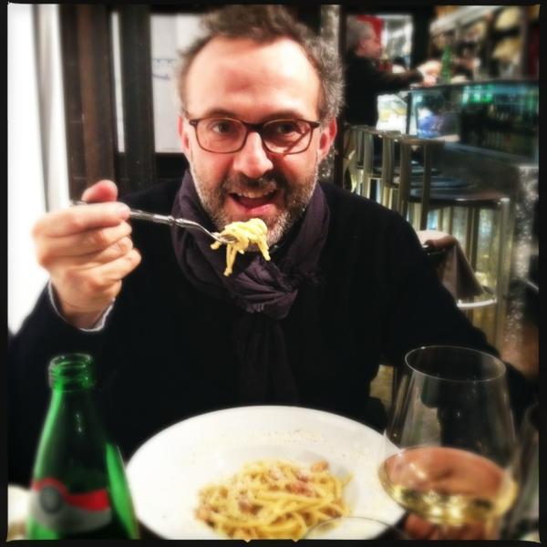 Massimo Bottura da Roscioli