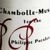 Schede del vino. Philippe Pacalet Gevrey Chambertin e Chambolle