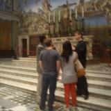 Roma. Da Pierluigi e incontri Mark Zuckerberg con la moglie fuori da Facebook