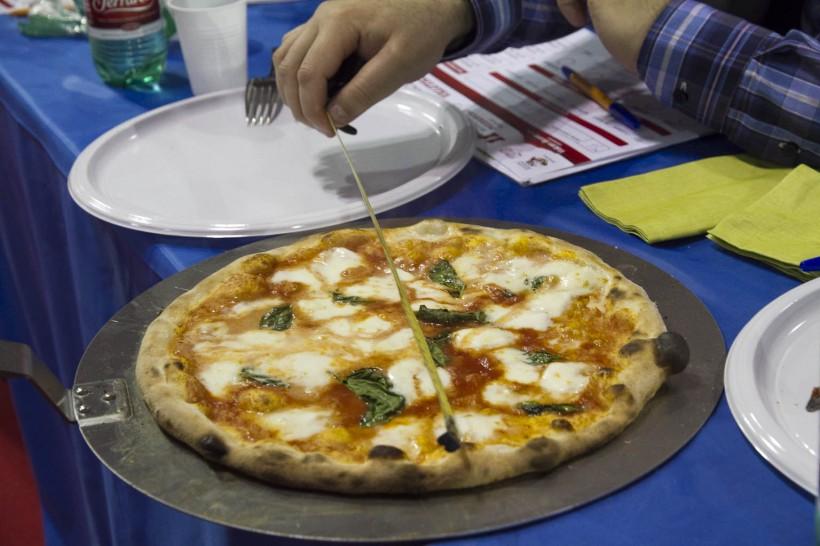 Trofeo Caputo misurazione pizza STG