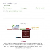 Foodblogger, siete liberi di bloggare anche senza registrare il blog