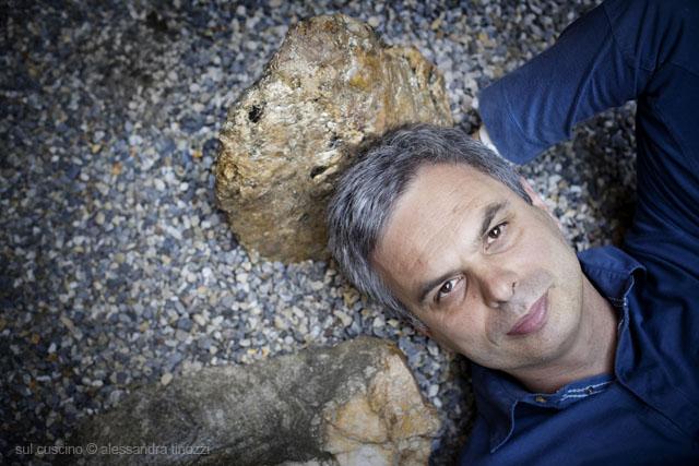 Pietro Leemann sul cuscino © Alessandra Tinozzi