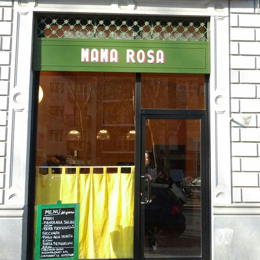Milano. Mama Rosa, bar con cucina per pranzare a prezzi convenienti