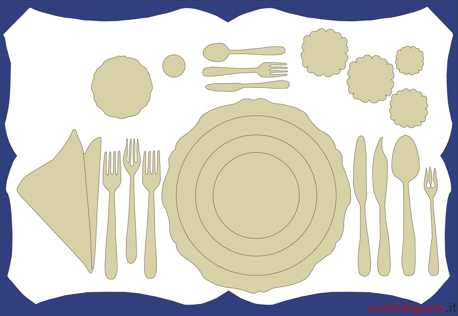 Arte della tavola come apparecchiare nemmeno se fossi - La tavola di melusinda ...
