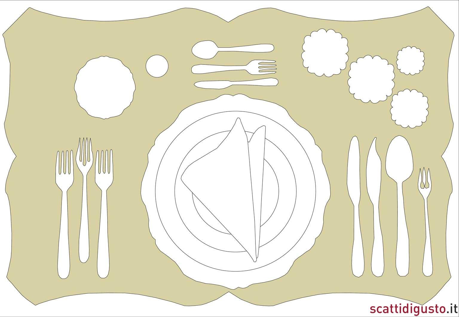Arte della tavola come apparecchiare nemmeno se fossi stella michelin - Apparecchiare la tavola bicchieri ...