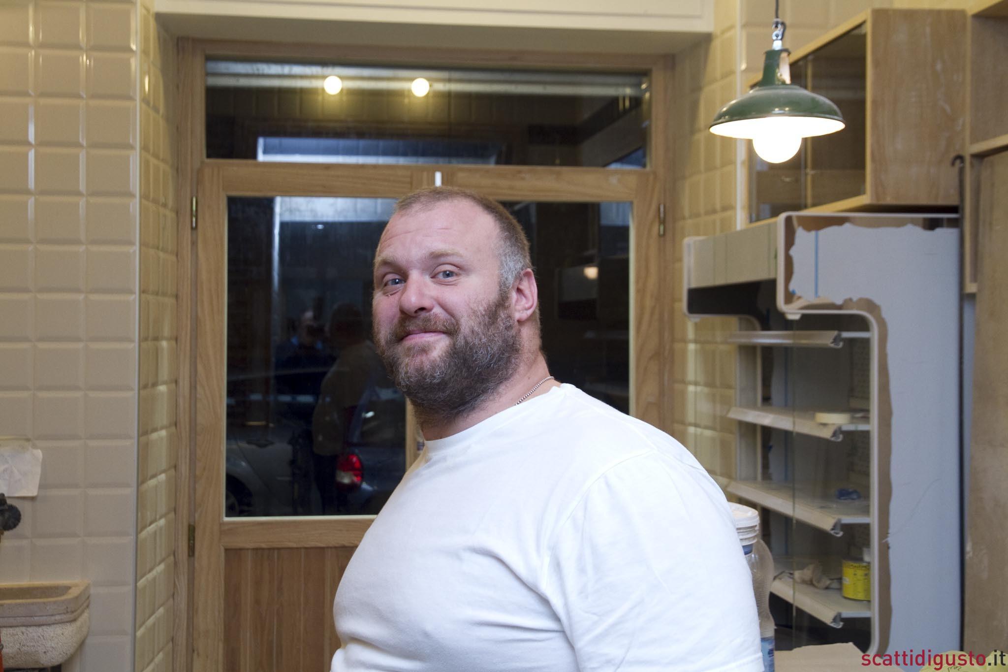 Gabriele Bonci nel nuovo forno a Roma