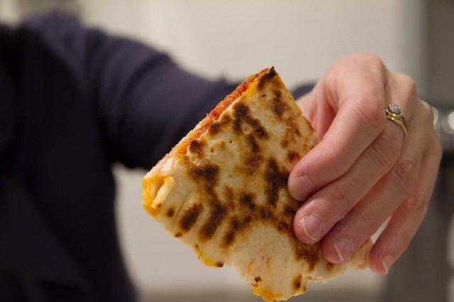 crescione pomodoro mozzarella salsiccia piccante Maioli Eataly Roma