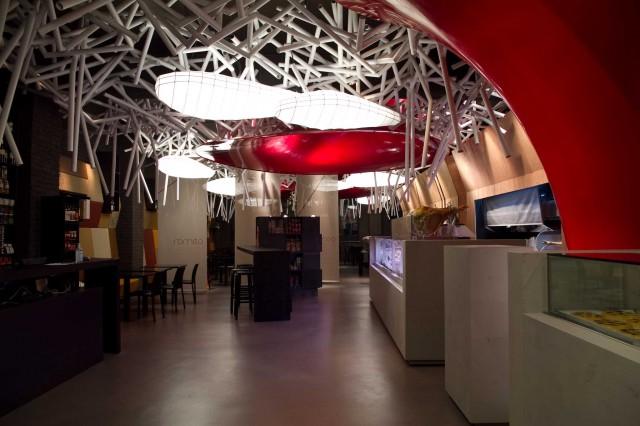 Romeo ristorante architettura Roma 01