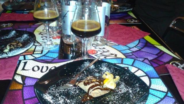 Taberna-Loverbeer-raviolo-cacao-gorgonzola