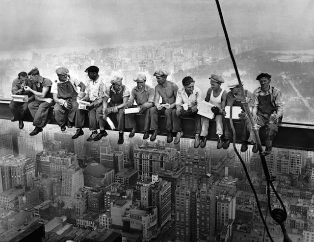 Charles Ebbets pausa pranzo 1932