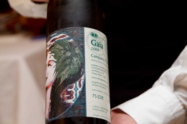 Gaia 2009 fiano Cantina Giardino