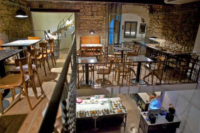 Nuove aperture roma spazio la dispensa la ciambella for Piani di costruzione di stand del ristorante