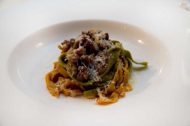 fettuccine anatra triglia ristorante Acquolina Roma