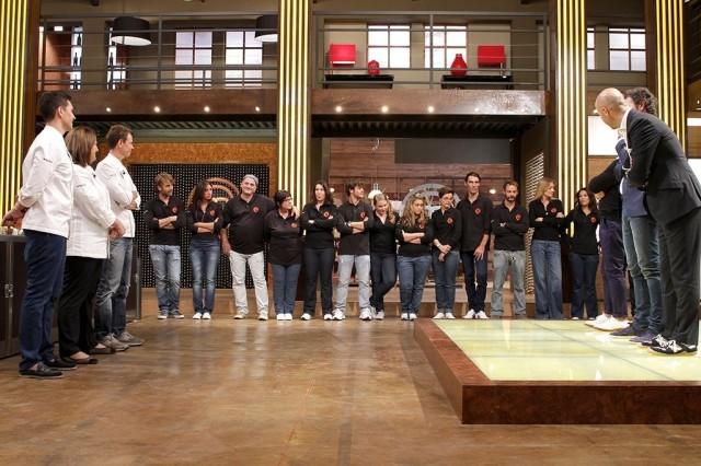 Concorrenti Masterchef guardano finale