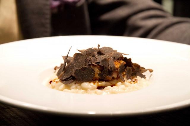 risotto animelle tartufo bowerman