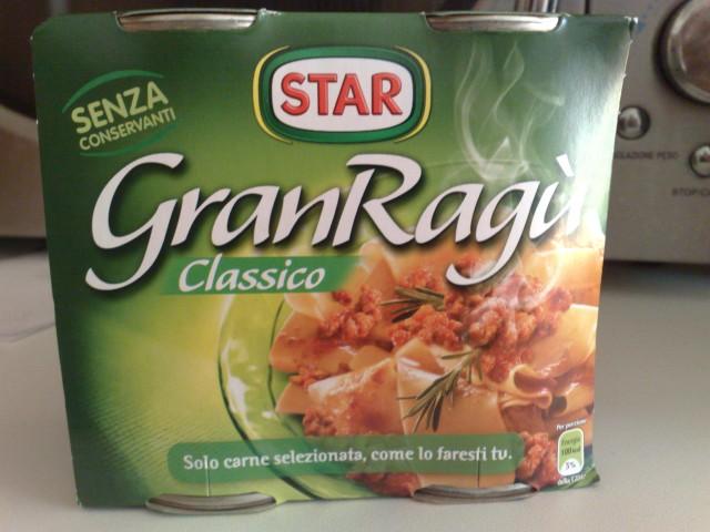 Gran Ragù Classico Star