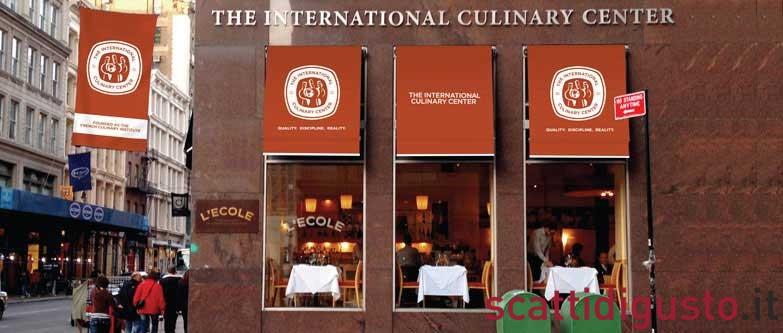 international culinary center food writing adjectives