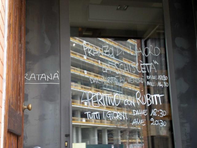 Ratanà-Milano-ingresso