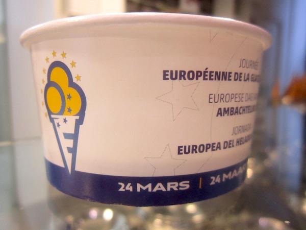 coppetta gelato giornata europea