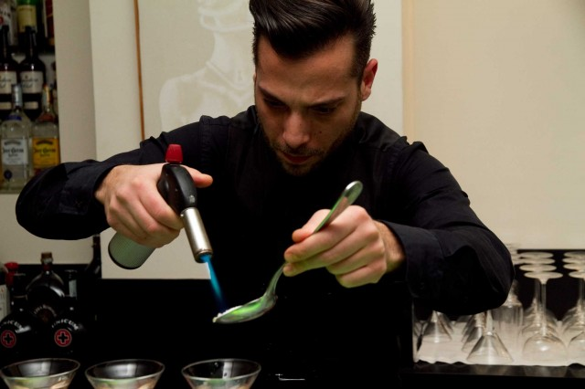 mixologist Patrizio Boschetto Misceliamo food cocktail bar