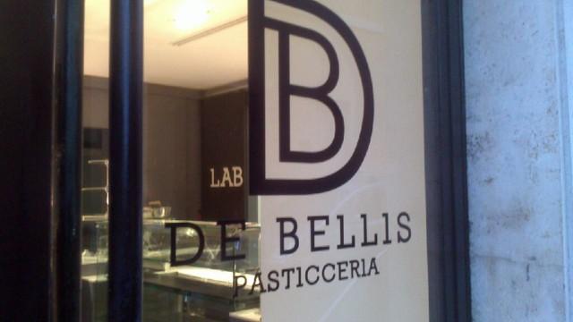 nuova pasticceria De Bellis Roma