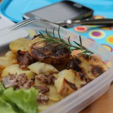 Pausa pranzo con patate e salsiccia mentre Thor ritarda la primavera